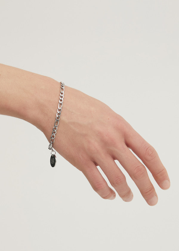 THREE TO ONE CHAIN BRACELET SILVER